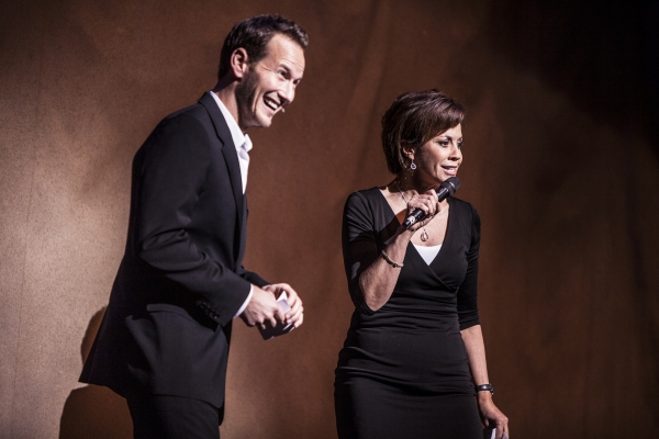 Patrick Wilson and Dana Tyler at City of Hope: Broadway Blows Back