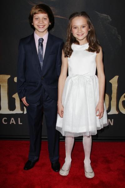 Daniel Huttlestone and Isabelle Allen