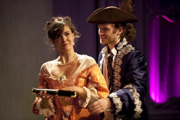Allison Buck and Seth Moore