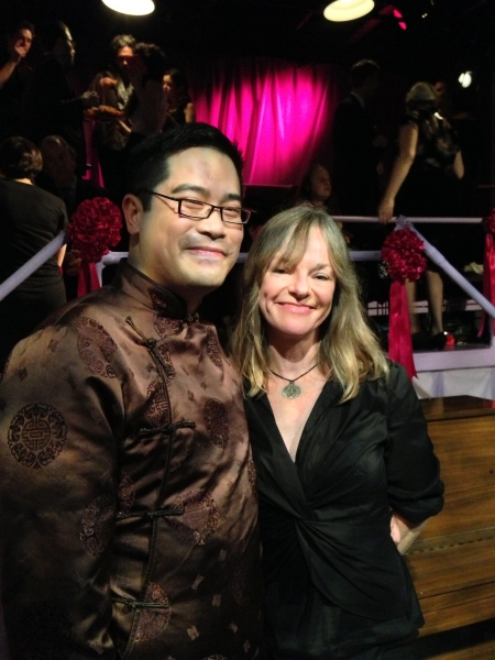 Ed Sylvanus Iskandar (Director), Amy Freed (Playwright) Photo