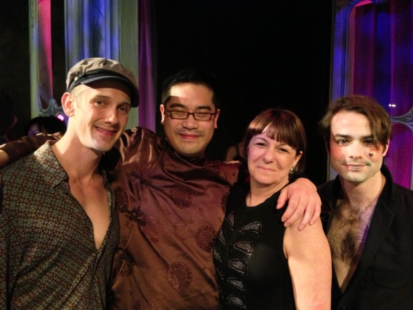 Photo Flash: The Flea's RESTORATION COMEDY Opening Night Party