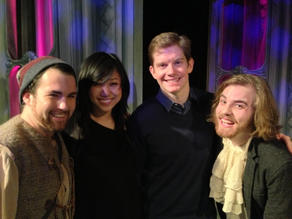 Zac Moon (Parson Bull), Angela Lin, Rory O'Malley (from Book of Mormon), Matthew Cox (Tunbelly)