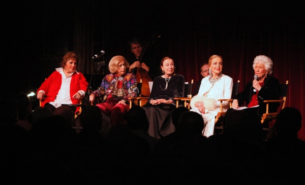 Pat Marshall, Jane Kean, Patricia Morison, Anne Jeffreys and Charlotte Rae