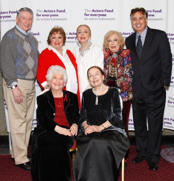 Marin Wiviott, Pat Marshall, Charlotte Rae, Anne Jeffreys, Patricia Morison, Jane Kean and Lohn Bowab
