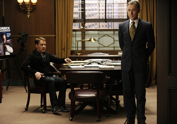 Photo Flash: T.R. Knight Guests on THE GOOD WIFE, Airs 1/6