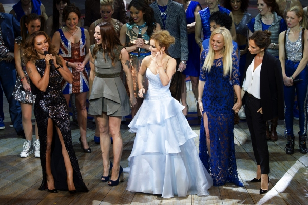 Photo Flash: Spice Girls Reunite at VIVA FOREVER! Opening Night in London!