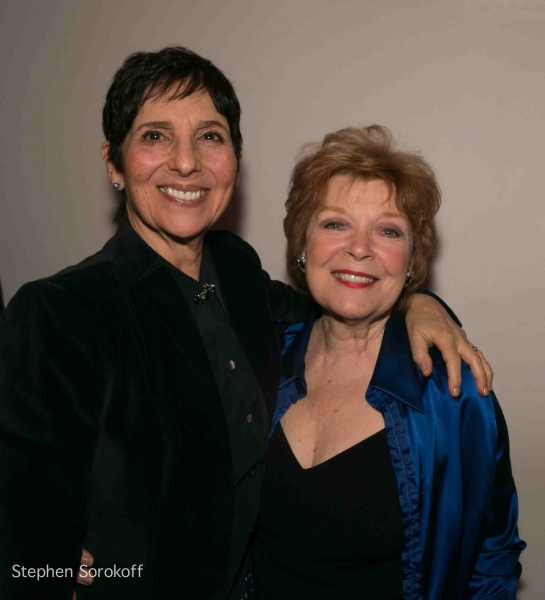 Loni Ackerman & Anita Gillette at Inside Opening Night of 13 THINGS ABOUT ED CARPOLOTTI