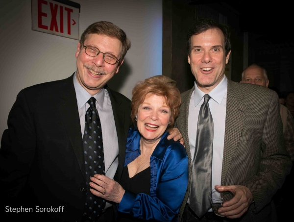 Barry Kleinbort, Anita Gillette, Paul Greenwood at Inside Opening Night of 13 THINGS ABOUT ED CARPOLOTTI