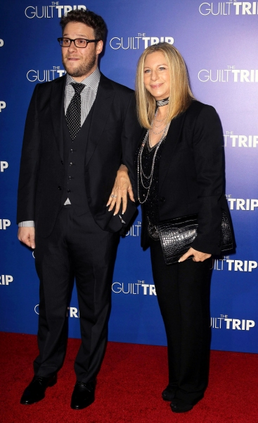 Seth Rogen,Barbra Streisand at Barbra Streisand, Seth Rogen & More at LA Premiere of THE GUILT TRIP