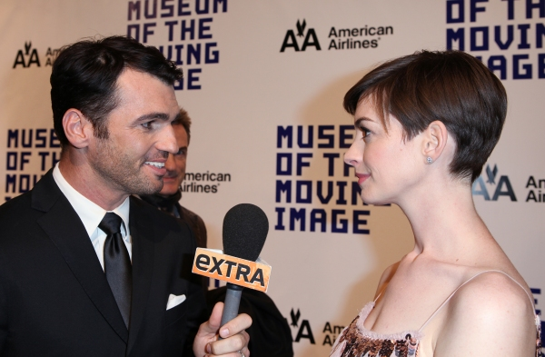 Tony Dovolani & Anne Hathaway  Photo