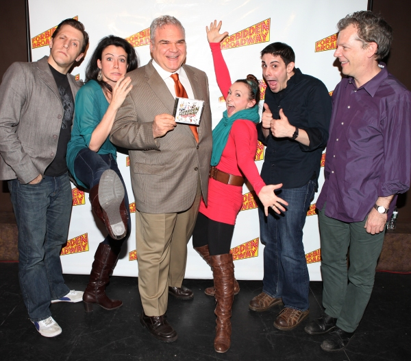 Photo Coverage: FORBIDDEN BROADWAY Cast Signs Albums at Drama Book Shop