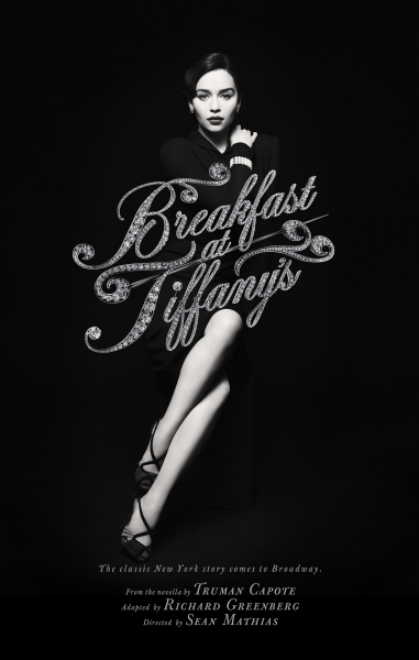 Photo Flash:  First Look at Emilia Clarke as 'Holly Golightly' in BREAKFAST AT TIFFANY'S!