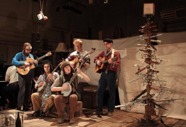 Photo Coverage: PigPen Theatre Co. Lights Un-Rockefeller Center Christmas Tree