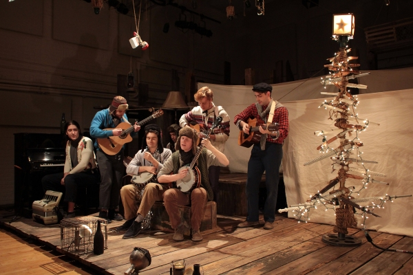 Photo Coverage: PigPen Theatre Co. Lights Un-Rockefeller Center Christmas Tree