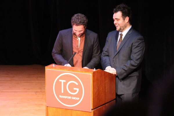 David Rossmer, Greg Hildreth at Christian Borle, Montego Glover, and More at GIMME A BREAK Gala
