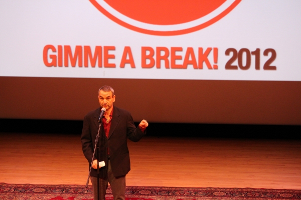 Photo Flash: Christian Borle, Montego Glover, and More at GIMME A BREAK Gala