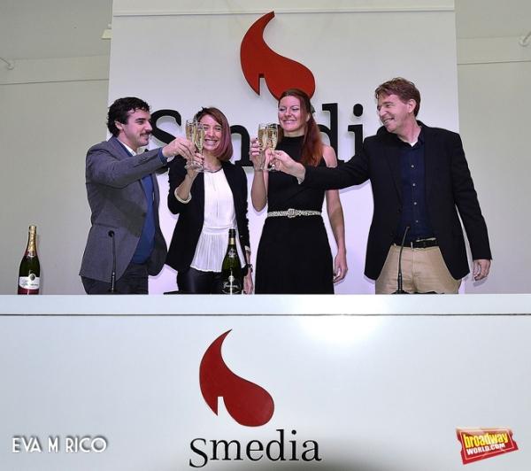 Jacobo Munoz, Patrizia Ruiz, Miriam Madrid y Javier Munoz