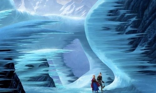 Photo Flash: First Look - Concept Art for Disney's FROZEN