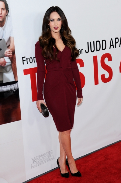 Megan Fox 'This Is 40' film premiere in Los Angeles (Photo by Stewart Cook / Rex USA)