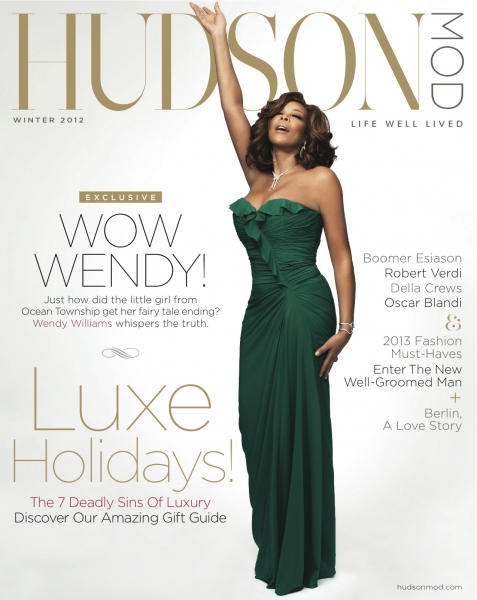 Photo Flash: Wendy Williams on the Cover of HudsonMod's Winter 2012 Issue