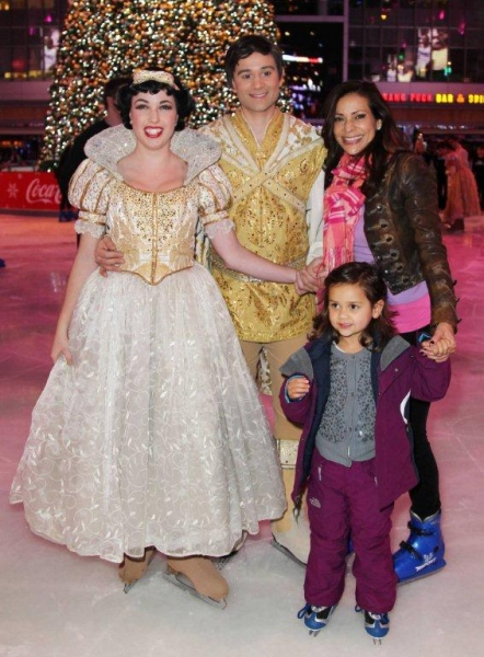 Constance Marie with her daughter and the Princess and Prince Photo