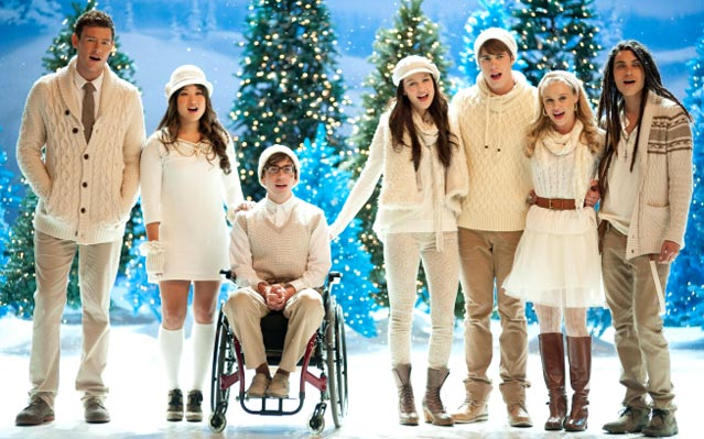 SOUND OFF: GLEE's Black & White Christmas & Chanukah