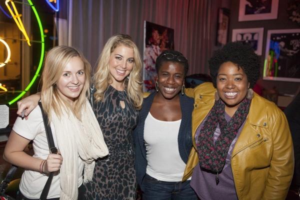 Julia Mattison, Morgan James, Uzo Aduba and Celisse Henderson Photo