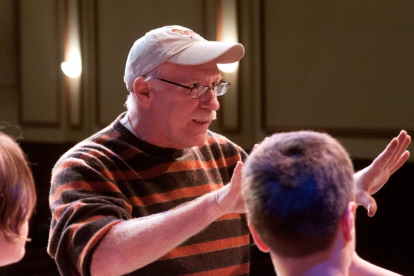Photo Flash: Sneak Peek at Rehearsals for A MUSICAL CHRISTMAS CARD
