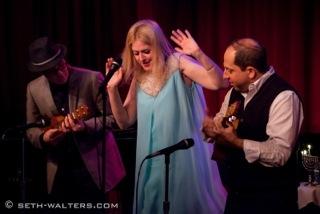 Greg Morrison, Lisa Lambert and Jason Kravitz