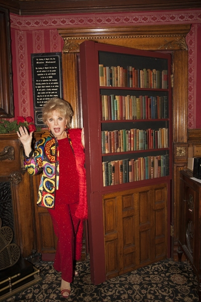 Star of stage and screen, Ruta Lee, finds a secret passage of her own.