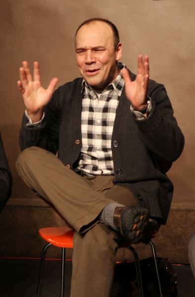 Photo Coverage: Robert Simonson, Danny Burstein and More at PERFORMANCE OF THE CENTURY Actors' Equity Association Book Signing