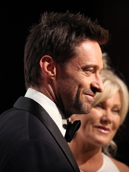 Hugh Jackman & Deborra-Lee Furness at In The Spotlight Series: Hugh Jackman