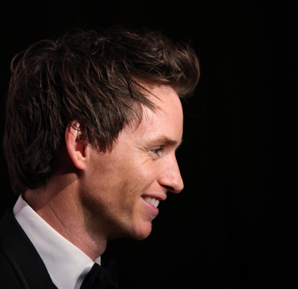 Eddie Redmayne at In The Spotlight Series: Eddie Redmayne