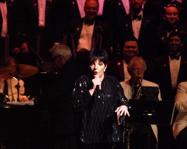 Photo Coverage: Liza Minnelli with MenAlive in A WINTER SPECTACULAR Opening Night at Segerstrom Hall