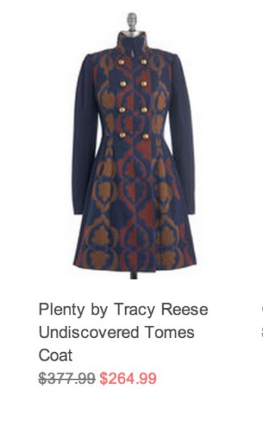 Daily Deal 12/16/12: ModCloth