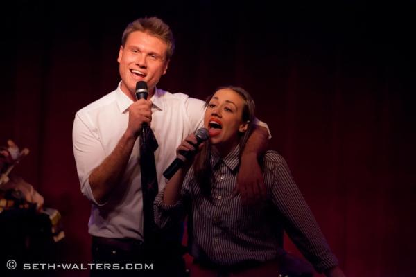 Jonathan Hawkins and Miranda Sings Photo