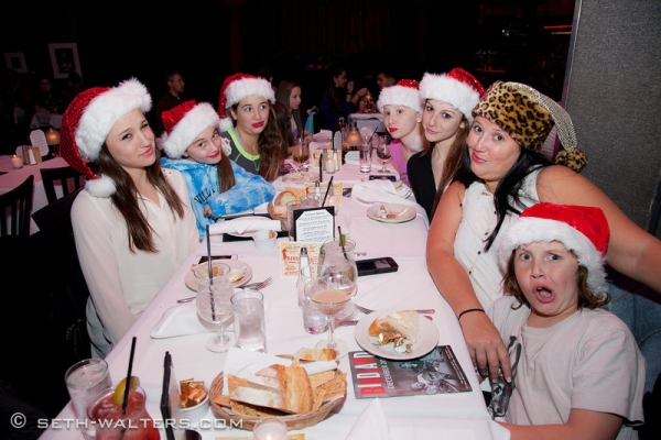 Photo Flash: MIRANDA SINGS CHRISTMAS KAROLS for Broadway at Birdland