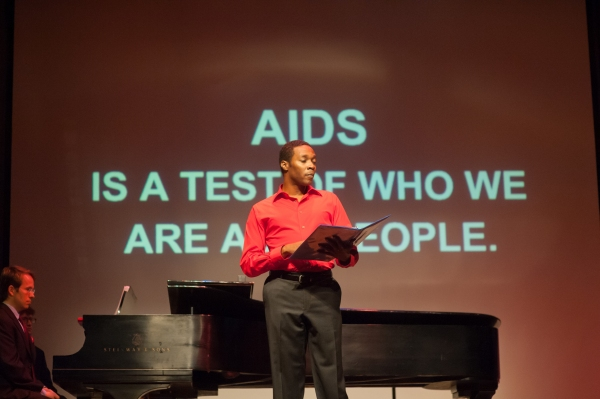 Photo Flash: Sing for Hope's AIDS Quilt Songbook @ TWENTY on World AIDS Day