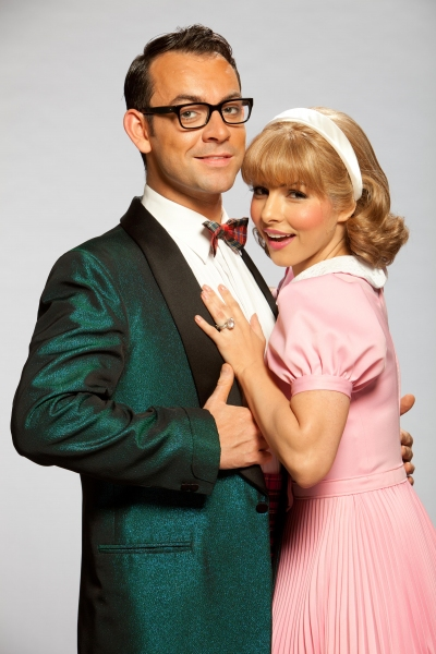 Ben Forster and Roxanne Pallett as Brad and Janet