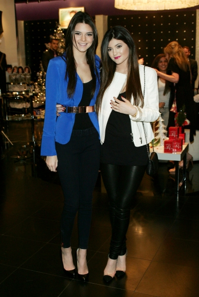 Kylie and Kendall Jenner at Kardashian Khaos, Las Vegas (Photo by Everett Collection / Rex USA)