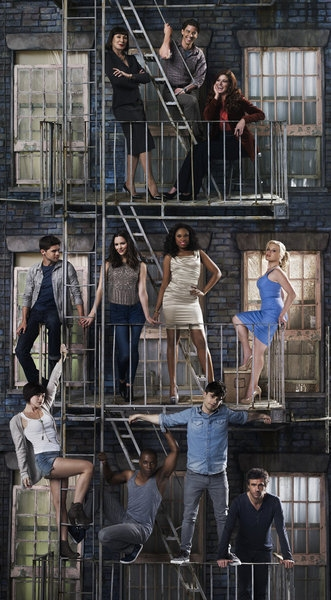 Megan Hilty, Anjelica Huston, Jennifer Hudson, Jack Davenport, Debra Messing , Christian Borle, Krysta Rodriguez, Leslie Odom Jr, Andy Mientus, Katharine McPhee, Jeremy Jordan at Expanded First Look at SMASH Season 2!
