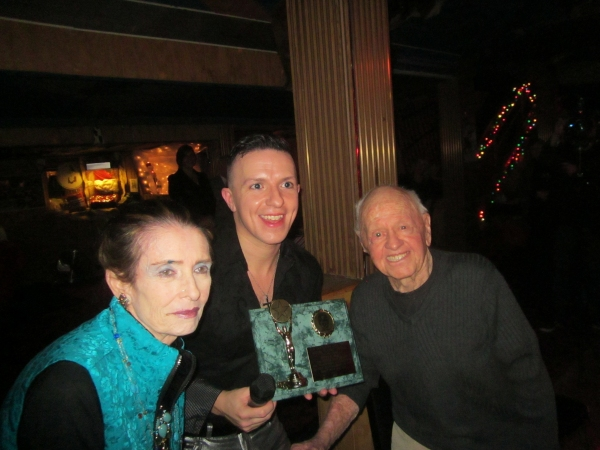 left to right: Margaret O'Brien, Peter Mac and Mickey Rooney Photo