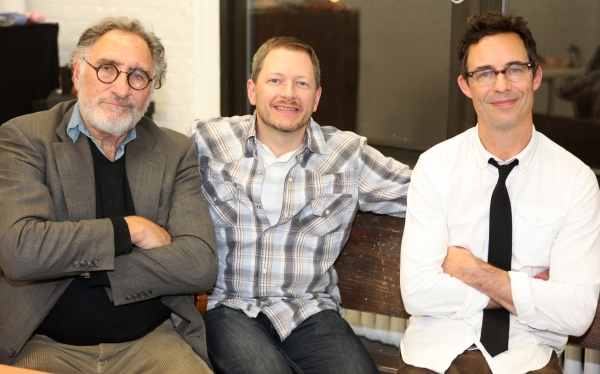FREEZE FRAME: Judd Hirsch & Tom Cavanagh in Rehearsal for FREUD'S LAST SESSION