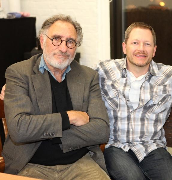 Judd Hirsch & Tyler Marchant Photo