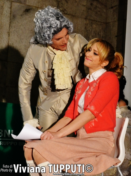 Cristian Ruiz e Valentina Gullace