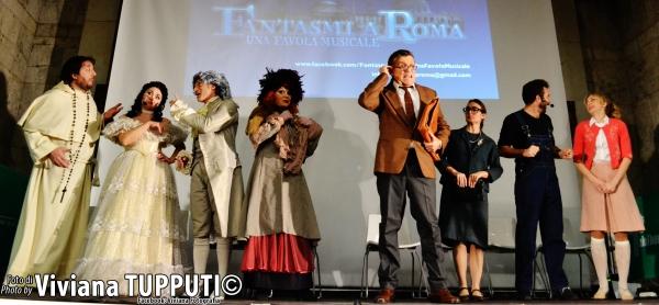 Toni Fornari, Renata Fusco, Cristian Ruiz, Simona Patitucci, Giancarlo Teodori, Carlotta Maria Rondana, Marco Rea e Valentina Gullace
