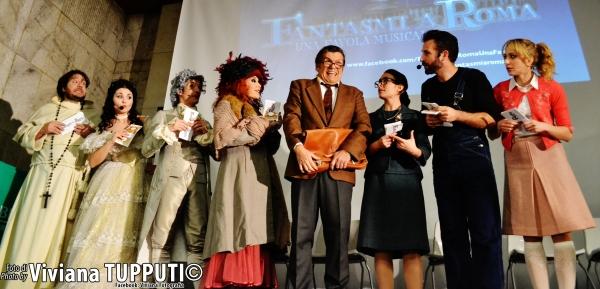 Toni Fornari, Renata Fusco, Cristian Ruiz, Simona Patitucci, Giancarlo Teodori, Carlo Photo