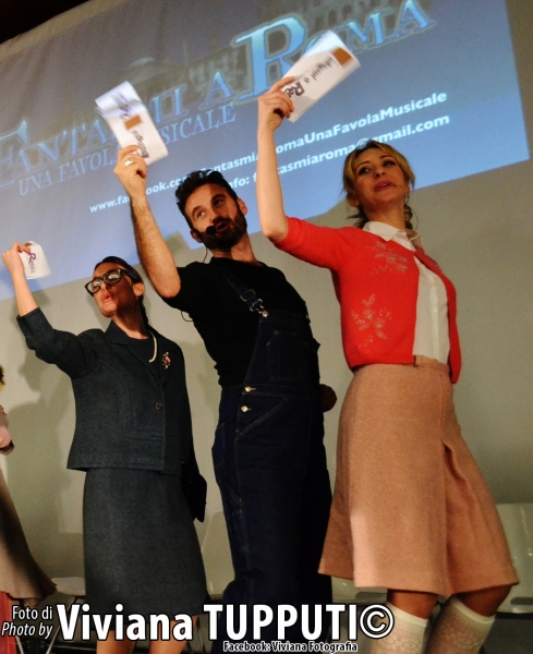 Carlotta Maria Rondana, Marco Rea, Valentina Gullace Photo