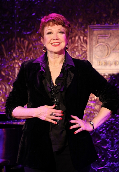 Donna McKechnie at Donna McKechnie Gives 54 Below Preview!