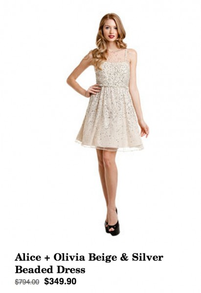 Daily Deal 12/18/12: Alice and Olivia